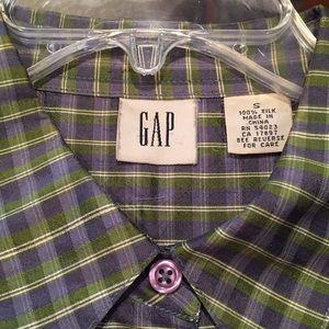 🌿 Vintage GAP silk shirt